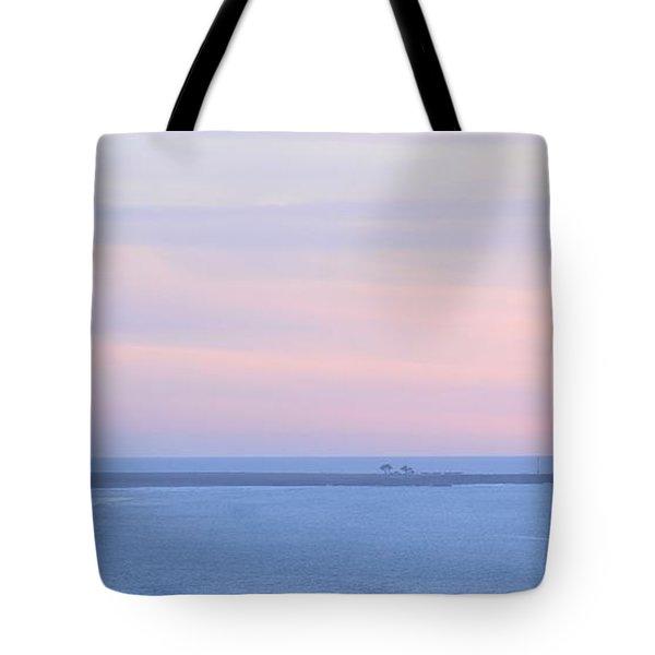 Sunset From Irish Beach Tote Bag