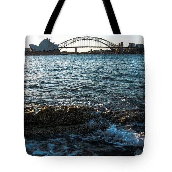 Sunset From Mrs Macquarie's Point Tote Bag