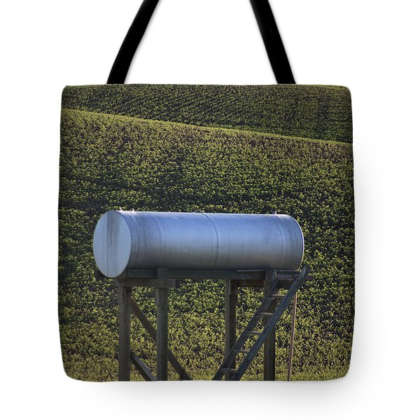 Sunset Fuel Tank Tote Bag