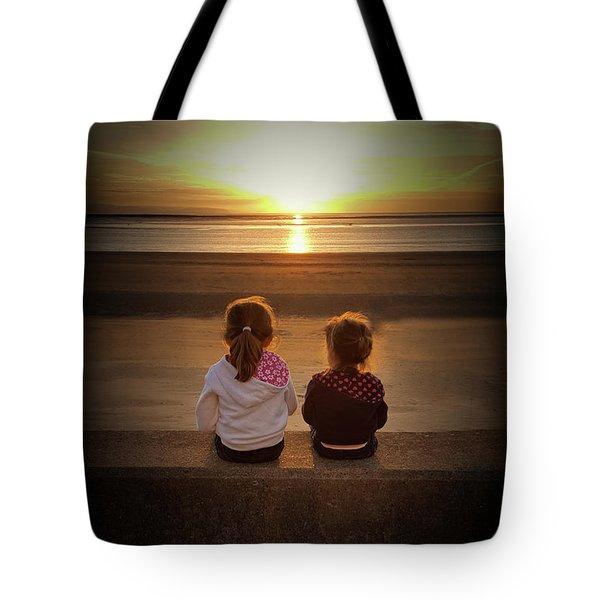 Sunset Sisters Tote Bag