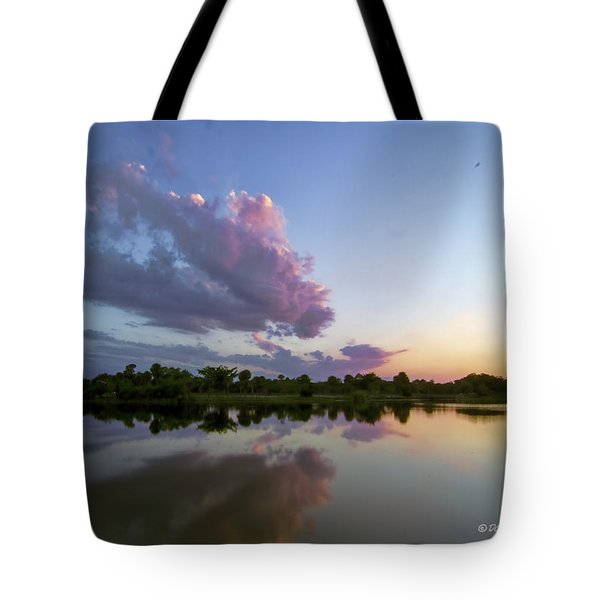 Tote Bag featuring the photograph Sunset Glow by Don Durfee
