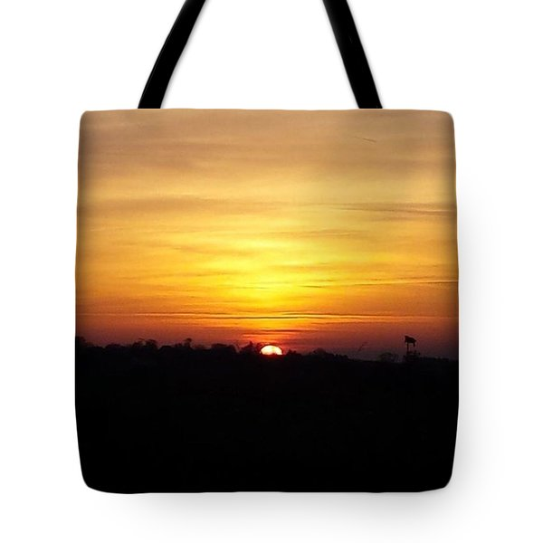Sunset @heecccckkkiii #sunset Tote Bag