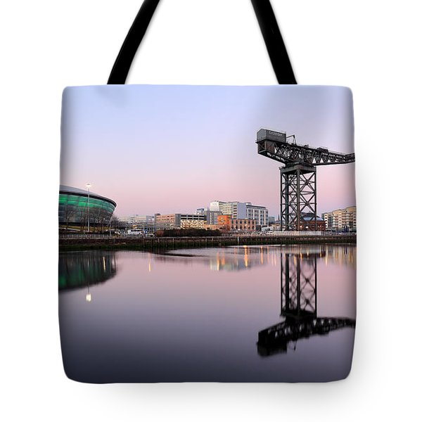 Tote Bag featuring the photograph Sunset Hues by Grant Glendinning