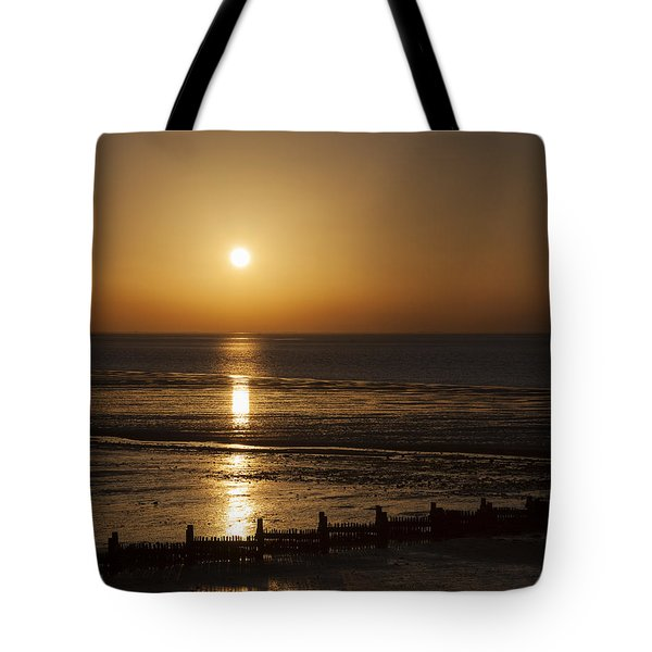 Sunset Hunstanton Tote Bag
