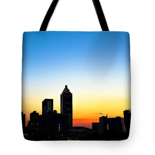 Sunset In Atlaanta Tote Bag
