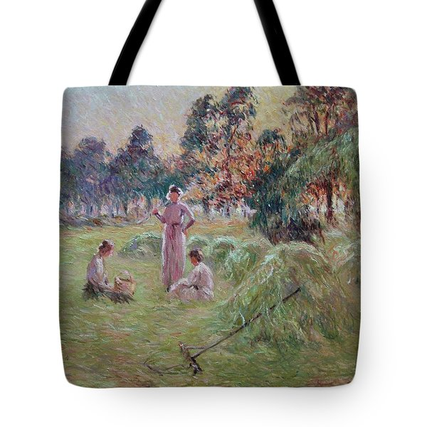 Sunset In Beynac-et-cazenac Tote Bag