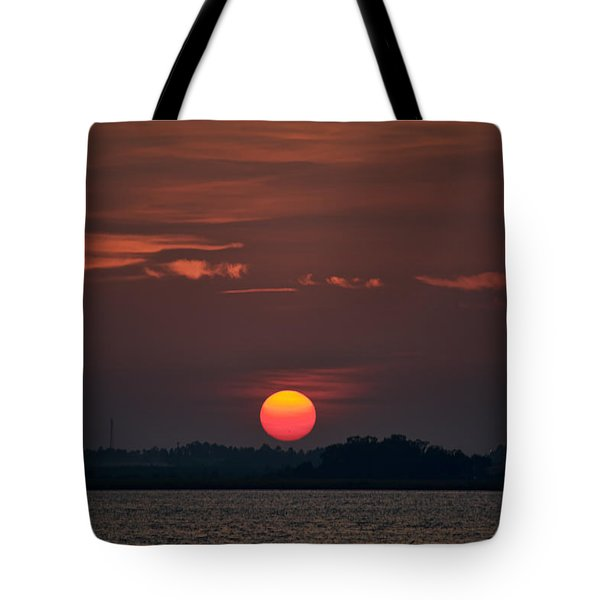 Sunset In Biloxi 2 Tote Bag