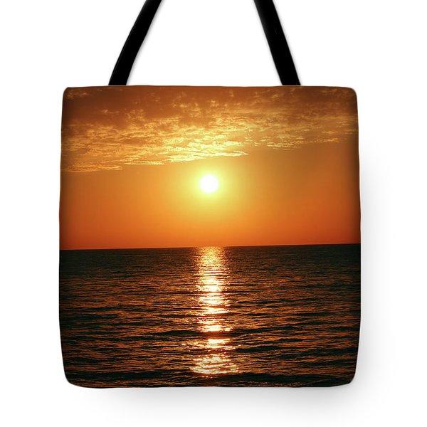 Sunset In Bimini Tote Bag