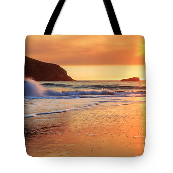 Tote Bag featuring the photograph Sunset In Brookings by James Eddy