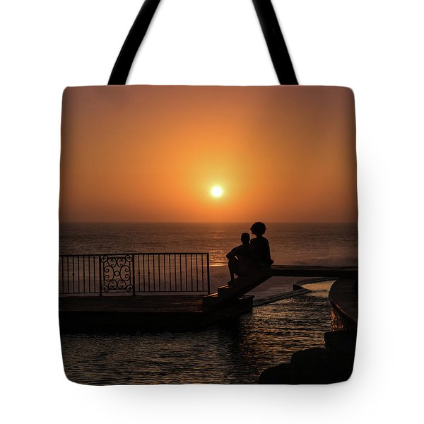 Sunset In Cerritos Tote Bag