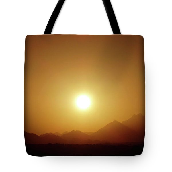 Sunset In Egypt 7 Tote Bag