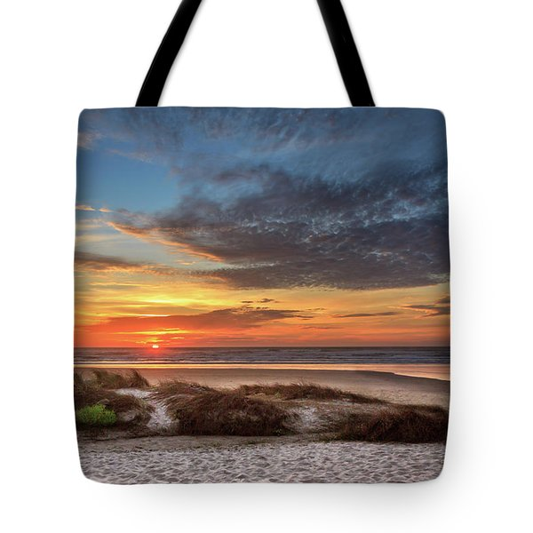 Tote Bag featuring the photograph Sunset In Florence by James Eddy