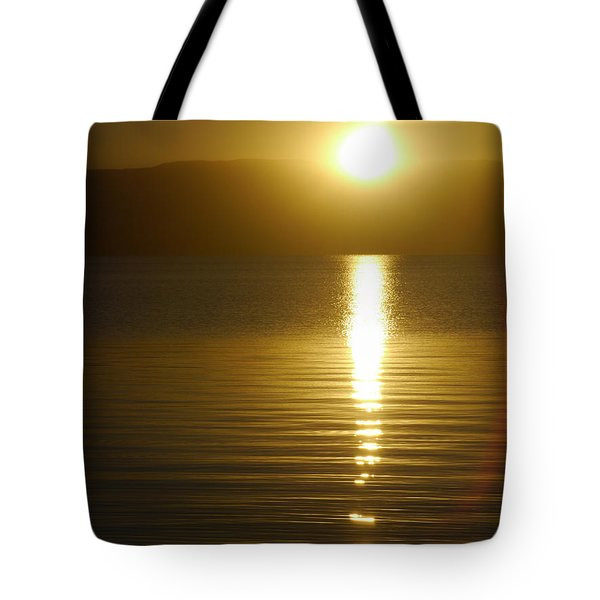 Sunset In January Tote Bag