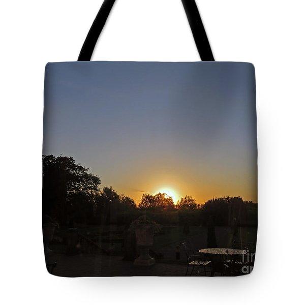 Sunset In Kilkenny Tote Bag