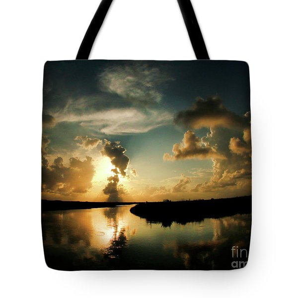Sunset In Lacombe, La Tote Bag