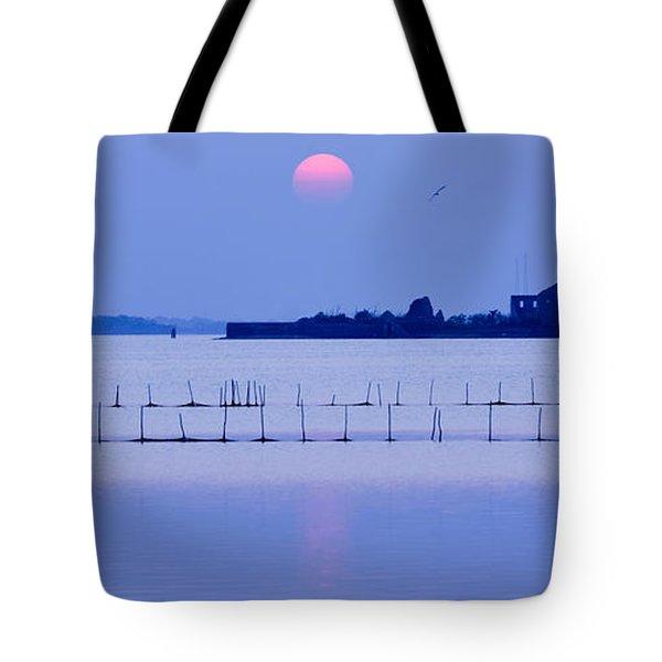 Sunset In Laguna Tote Bag