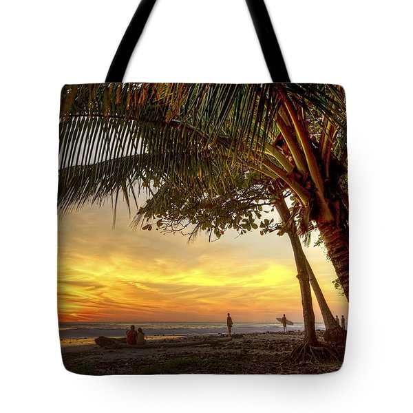 Sunset In Mal Pais Tote Bag