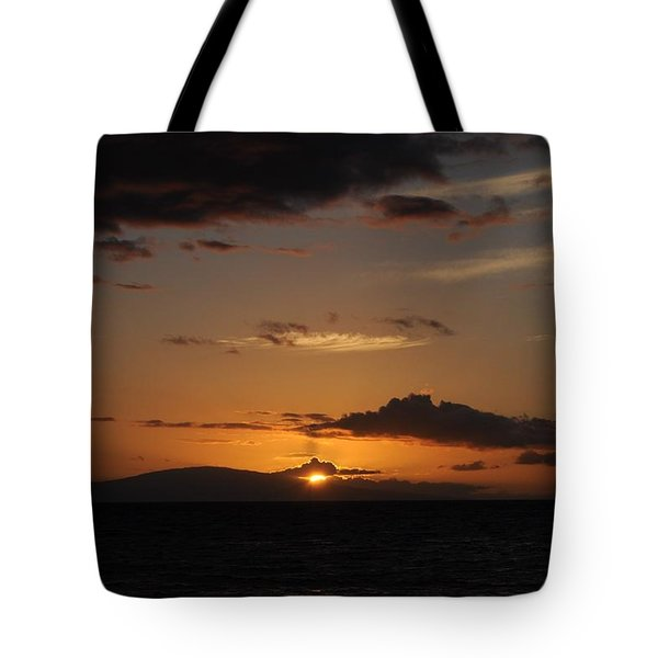 Sunset In Maui 2 Tote Bag by Michael Albright