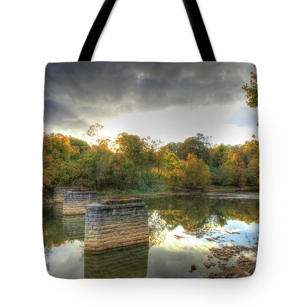 Sunset In Murphy Tote Bag by Sharon Batdorf