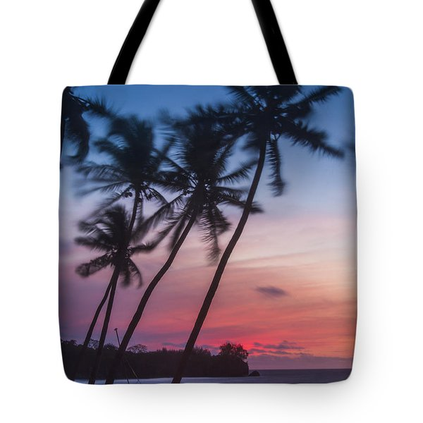 Sunset In Paradise Tote Bag by Alex Lapidus