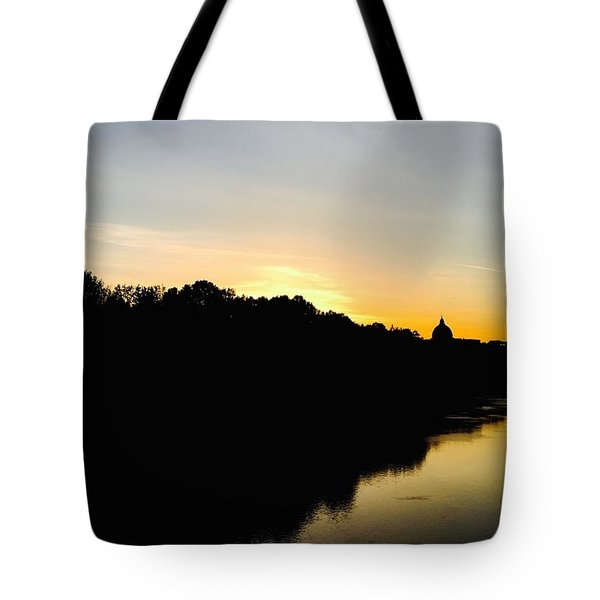 Sunset In Rome Tote Bag