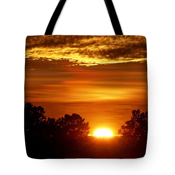 Sunset In Sonoma County Tote Bag