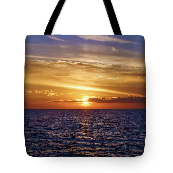 Sunset In Sw Florida Tote Bag