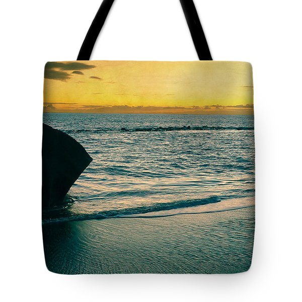 Sunset In Tenerife Tote Bag by Loriental Photography