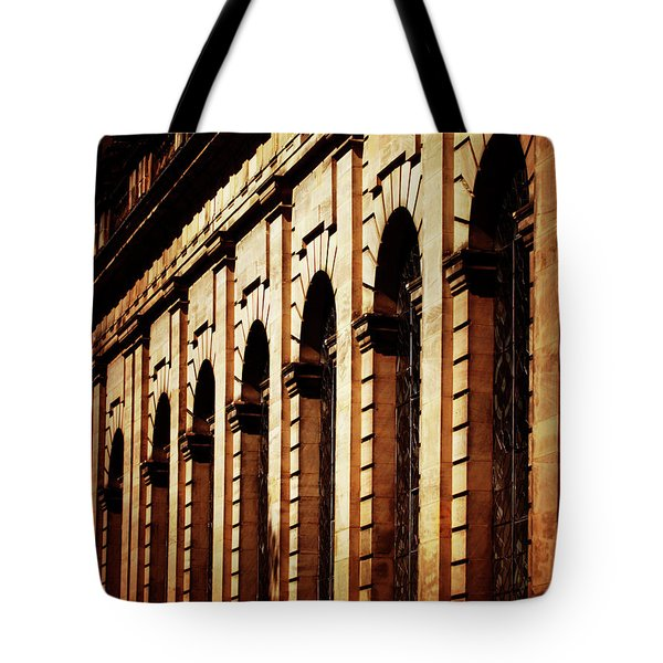 Tote Bag featuring the photograph Sunset In The City by Baggieoldboy