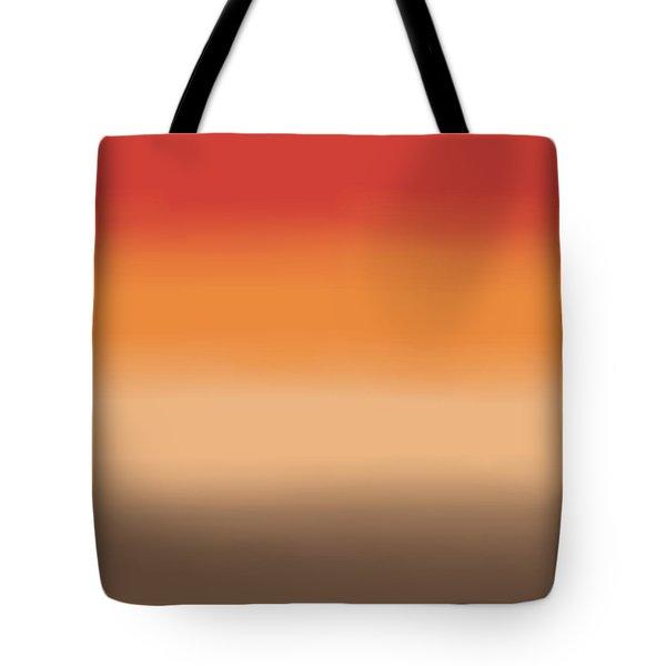 Sunset In The Desert - Sq Block Tote Bag