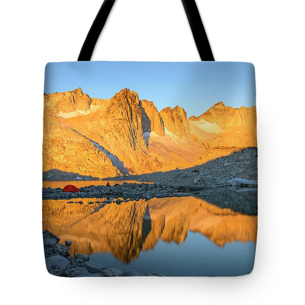 Sunset In The Enchantments Tote Bag
