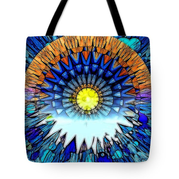 Sunset In The Mind's Eye Tote Bag