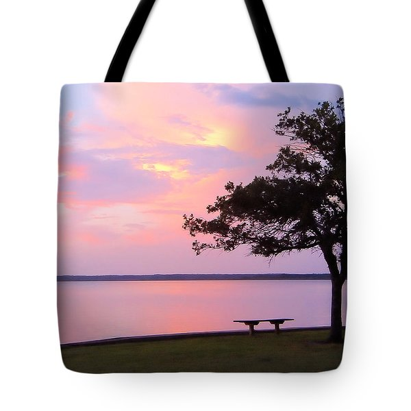 Sunset In The Pass Tote Bag