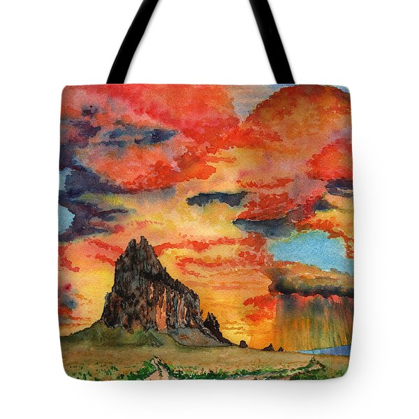 Sunset In The West Tote Bag