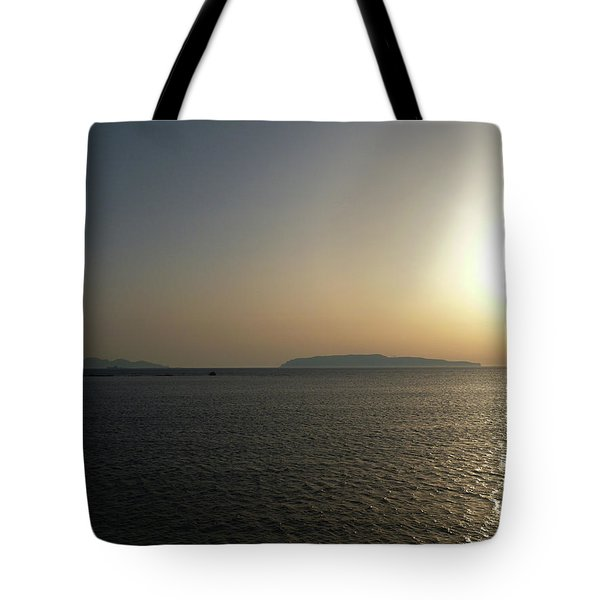 Sunset In Trapani Tote Bag