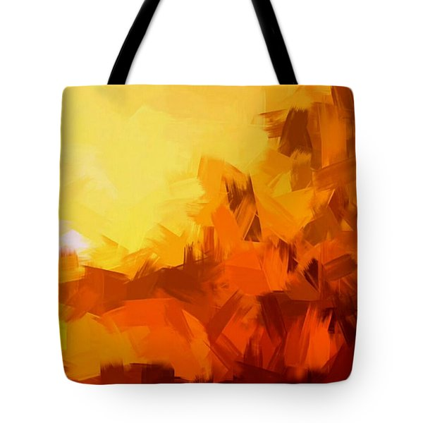 Sunset In Valhalla Tote Bag