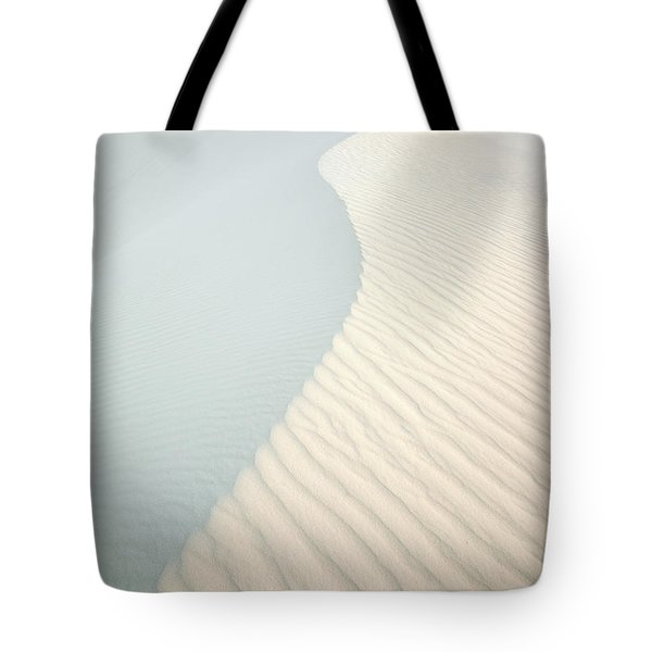 Sunset In White Sands Tote Bag