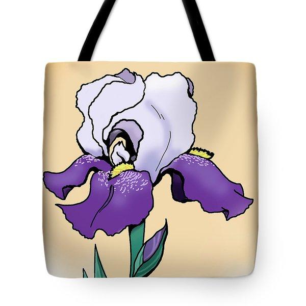 Sunset Iris Tote Bag
