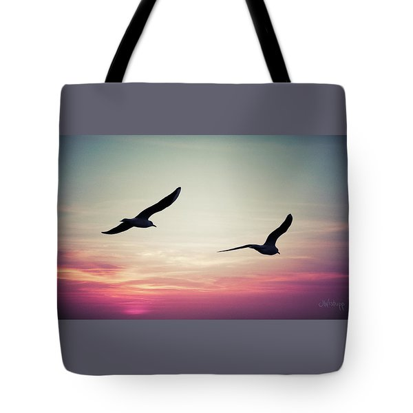 Sunset Tote Bag by Joseph Westrupp