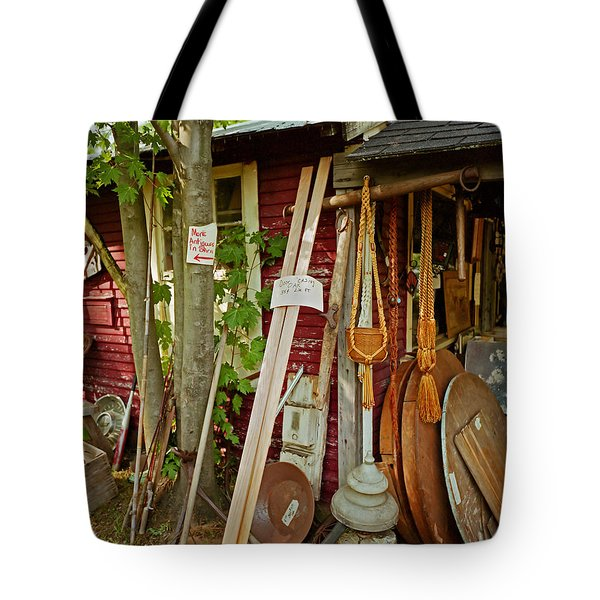 Sunset Jungle Antiques Tote Bag