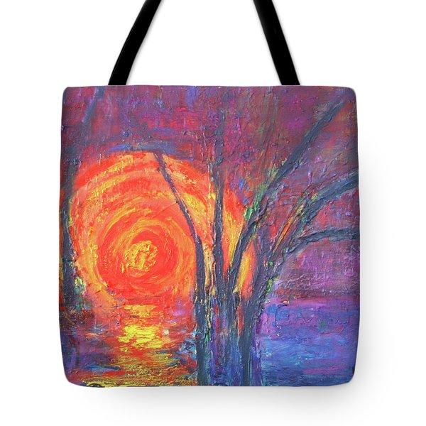 Sunset Tote Bag by Karin Eisermann