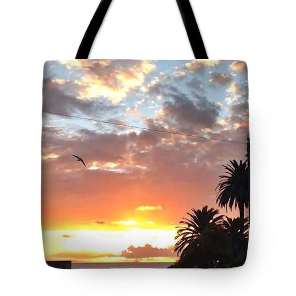 Sunset Laguna Oct 2015 Tote Bag