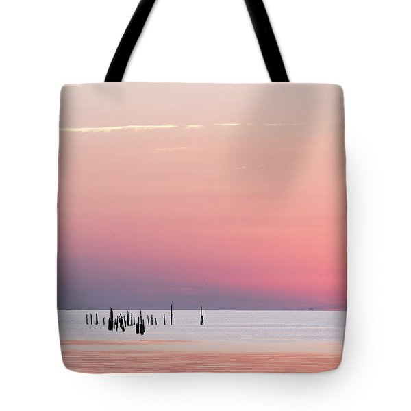 Sunset Landscape Tote Bag