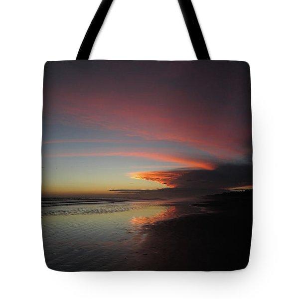 Sunset Las Lajas Tote Bag
