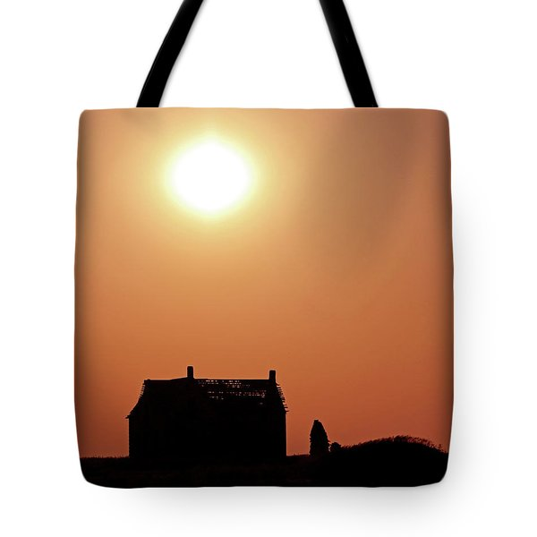 Sunset Lonely Tote Bag