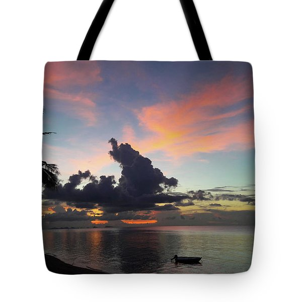Sunset Lovers Tote Bag
