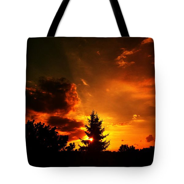 Sunset Madness Tote Bag by Flavien Gillet