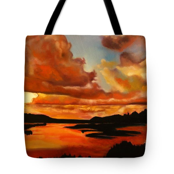 Sunset Tote Bag by Michael Kulick