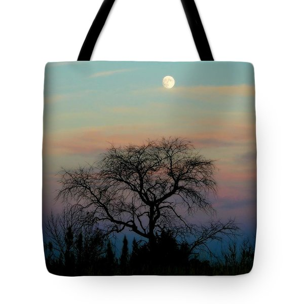 Sunset Moon Tote Bag