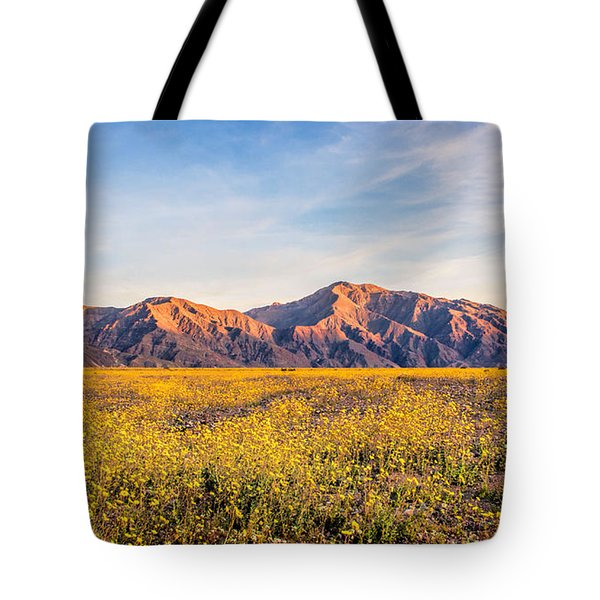 Sunset Mouintain Tote Bag